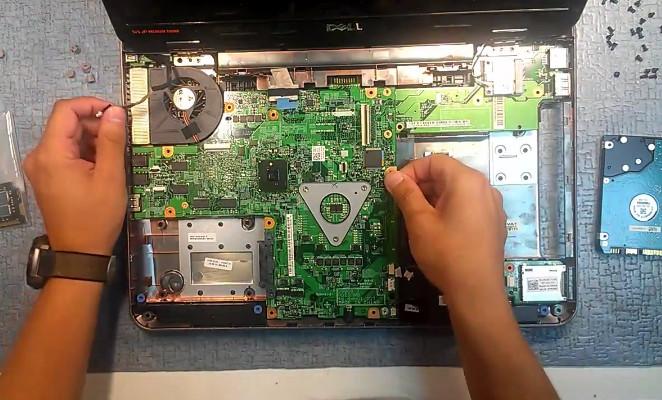 Разбор ноутбука Dell