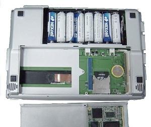 NorhTech Gecko - ноутбук, работающий на АА-батарейках