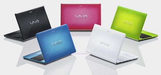 Яркий Sony VAIO E